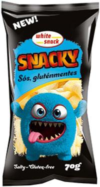 White Snack SNACKY sós gluténmentes kukoricarudacska 70g