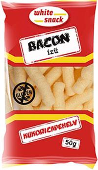 White Snack gluténmentes bacon ízű kukoricapehely 50g