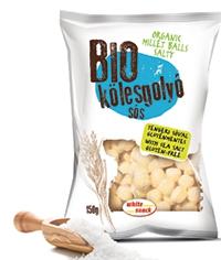 White Snack BIO Kölesgolyó natúr, ellenőrzött ökológiai gazdálkodásból 150g