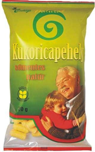 Fehértói Csemege NATURAL gluténmentes, sómentes kukoricapehely 70g