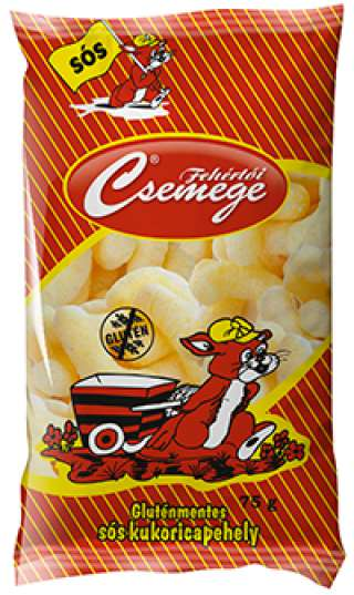 Fehértói Csemege gluténmentes sós kukoricapehely 75g