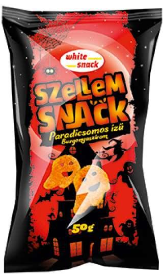 White Snack Szellem Snack, paradicsomos ízű burgonyaszirom 50g