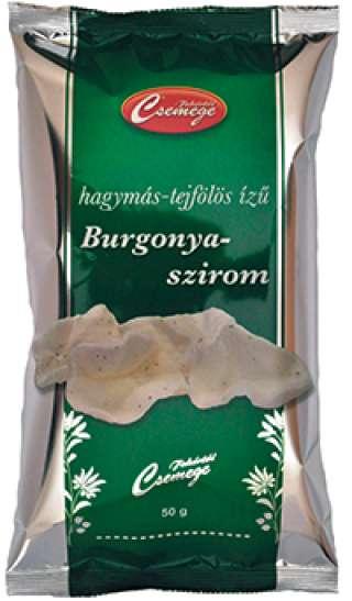 Fehértói Csemege hagymás-tejfölös ízesítésű burgonyaszirom 50g