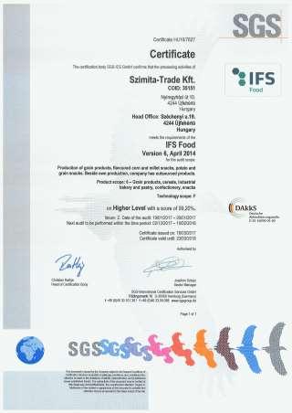 IFS Certificate
