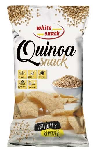 White Snack QUINOA Snack-3D