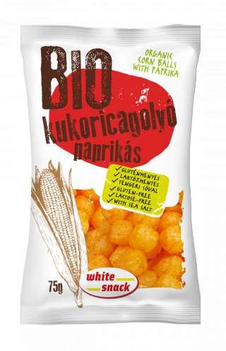 White Snack BIO kukoricagolyo_paprikas_3D