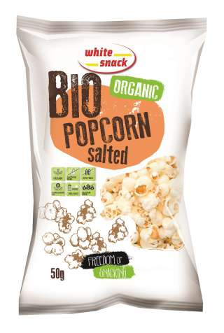 White Snack BIO_PopCorn_Salted_350x300mm_50g_3D_kisebb
